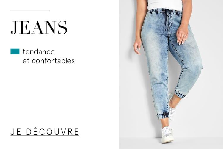 Jeans - tendance & et confortables