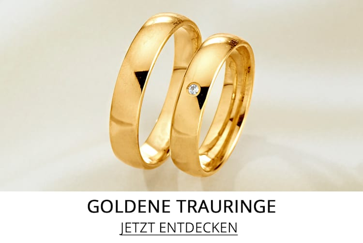 Trauringe in Gold