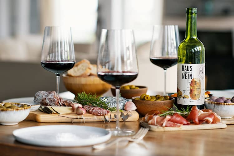 Rotwein Premium Paket