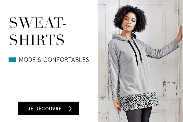 Sweat-shirts mode & confortables
