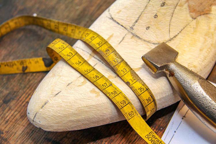 Schuhweite richtig messen