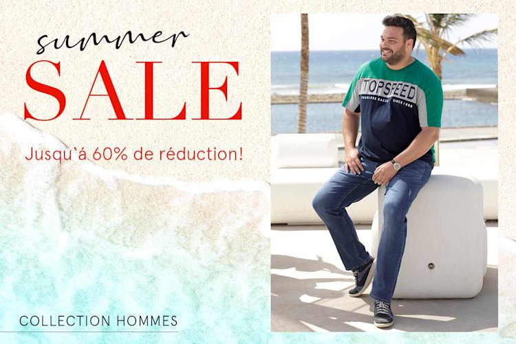 SOLDES d'été jusqu'à 60% de réduction!