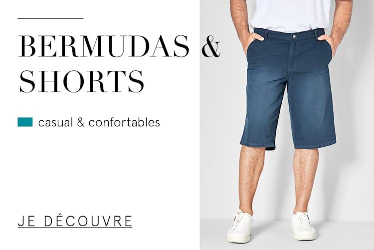 Bermudas & shorts casual & confortables