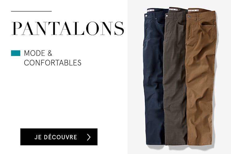 Pantalons mode & confortables