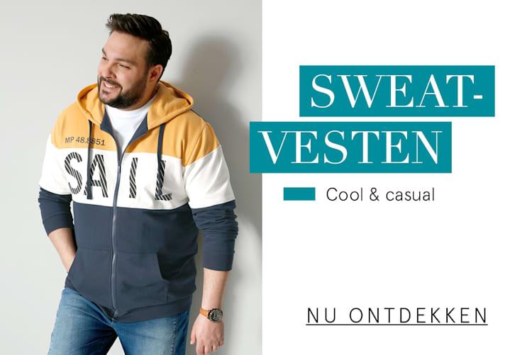 Sweatvesten Cool & casual