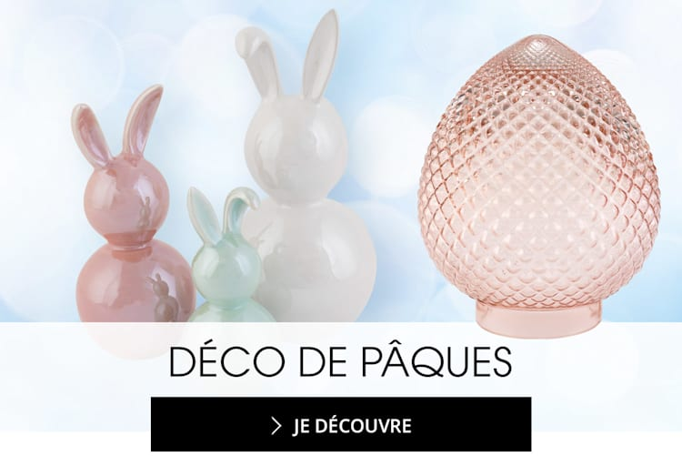 Décorations de Pâques de grandes tailles MIAMODA pour une maison chaleureuse
