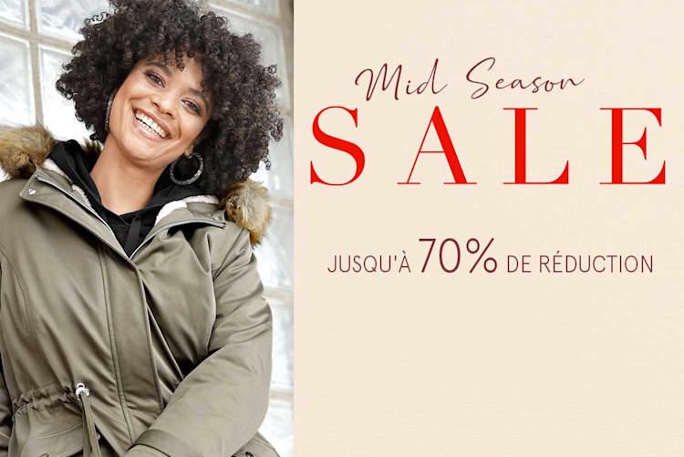 Mid Season Sale jusqu'à 70% de réduction