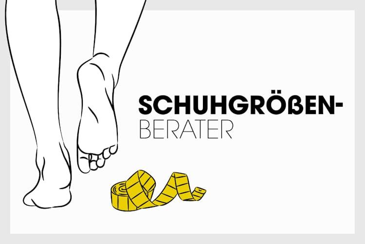 Beratung - Übersicht - Schuhgrößen
