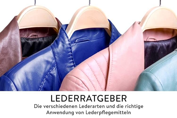 Lederratgeber, verschiede Lederarten & Lederpflegemittel – Gebrauch und Anwendung