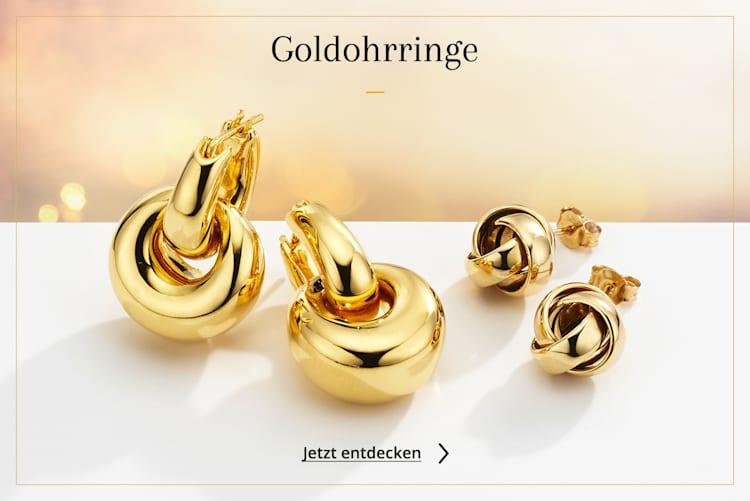 Goldohrringe