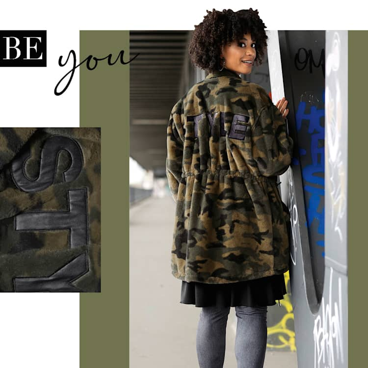 Be you - camouflage-Look