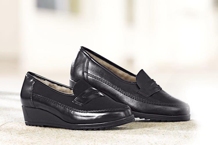 Chaussures doublées