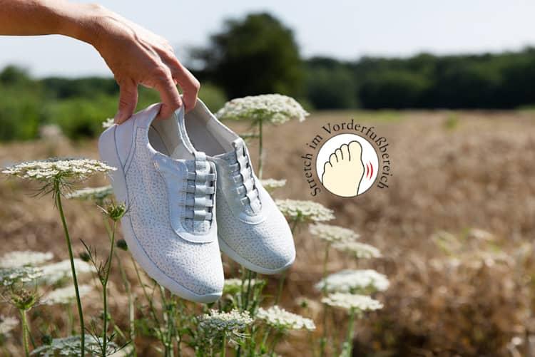 Schuhe für Hallux Valgus