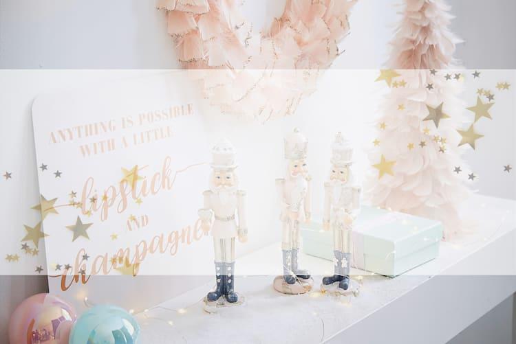 Weihnachtswelt - Pastell