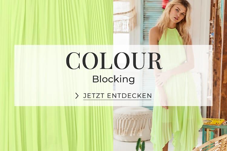 Colour Blocking - Jetzt entdecken