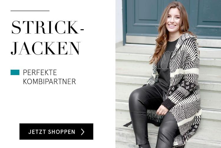 Strickjacken für Damen online kaufen bei HAPPYsize