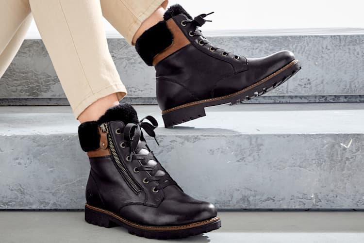 Gefütterte Schuhe für die kalte Jahreszeit