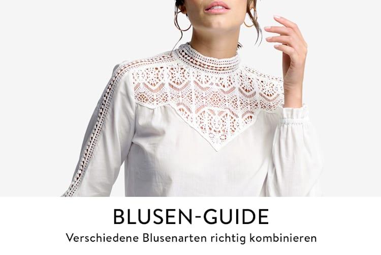 Blusen-Guide, der passende Blusen für jeden Anlass und Figurtyp aufzeigt