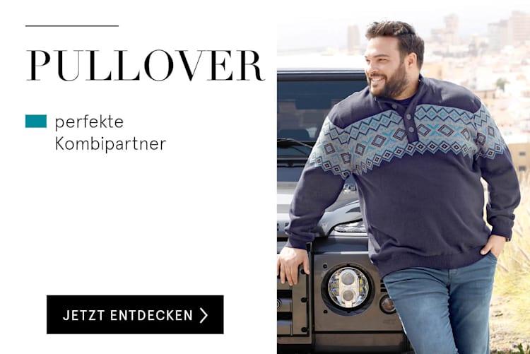 Pullover für Herren online kaufen bei HAPPYsize