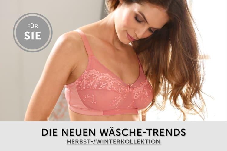 Damenwäsche Neue Herbst-/Winterkollektion