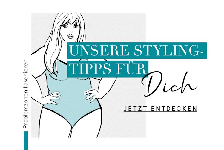 Styling-Tipps Damen - Problemzonen kaschieren