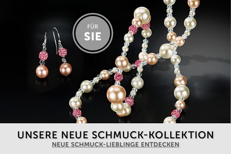 Damen Schmuck Neue Herbst-Winterkollektion