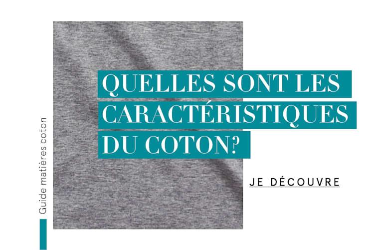Guide matières coton