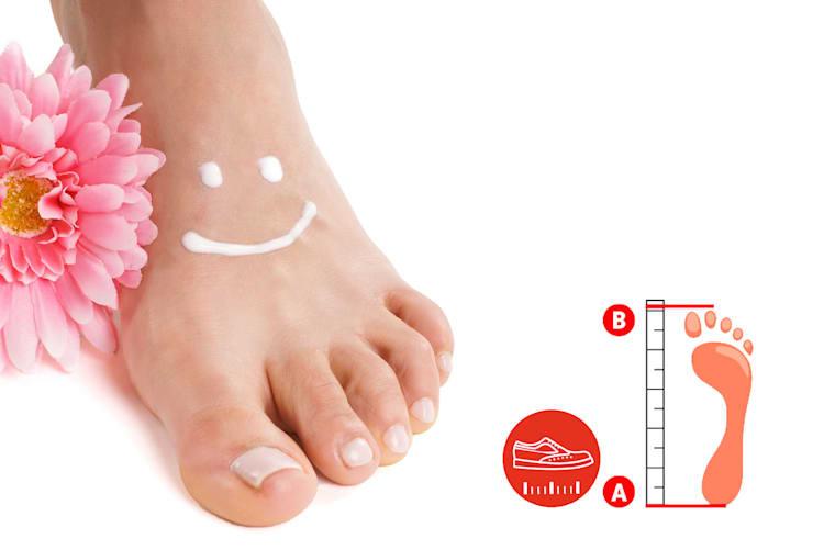 Größentabellen Schuhe
