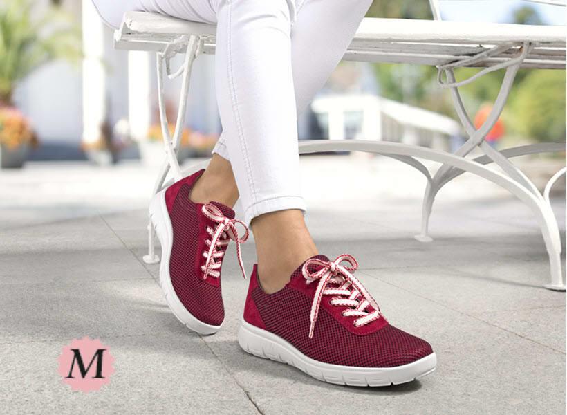 Schuhe in Spezialweite M für den sehr krätfigen Fuss