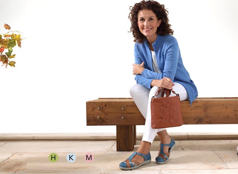 Schuhe in den Weiten H, K, M