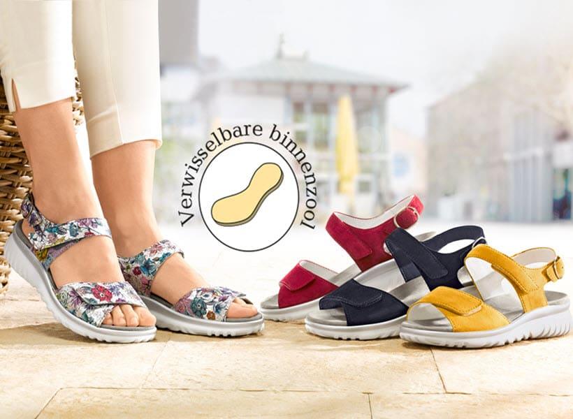 Schoenen voor inlegzolen