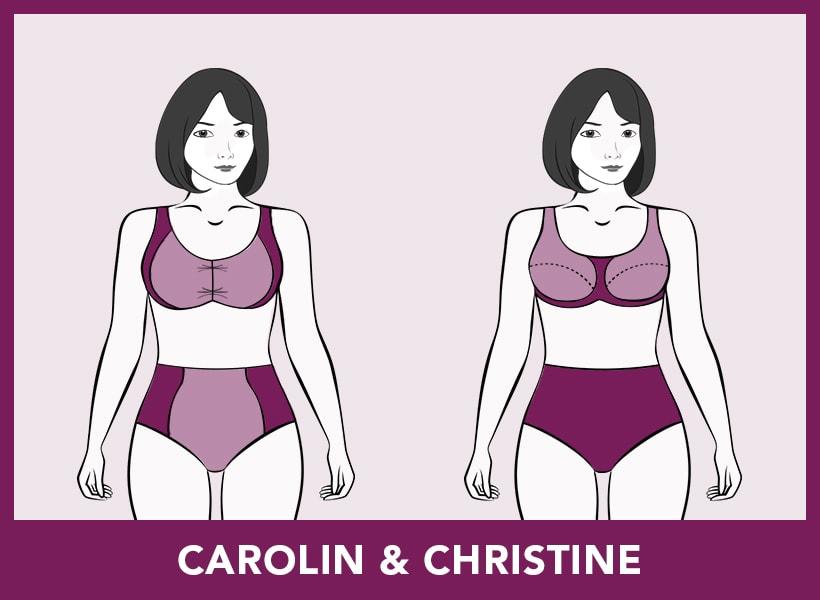 Bademode - Carolin & Christine