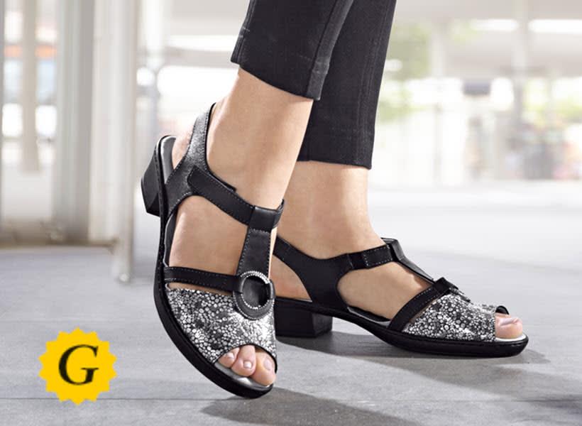 Komfortweite G für normal breite Füße