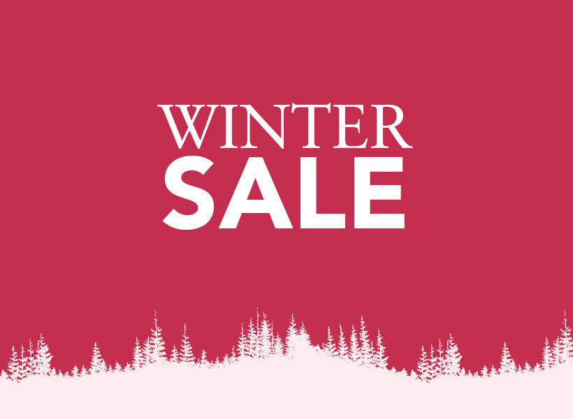 Winter-Sale nu tot 50% afgeprijsd