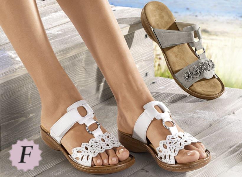 Tous les modèles en largeur de chaussures F