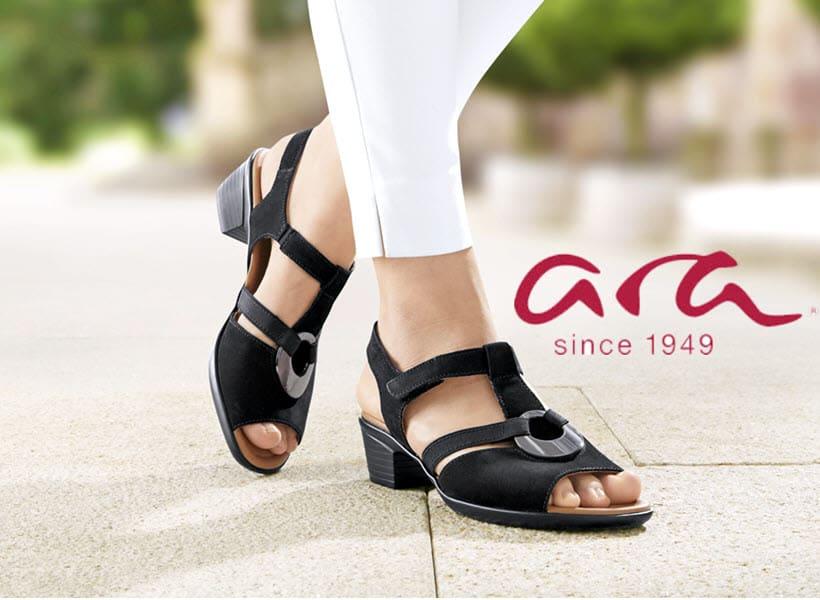 Damen- und Herrenschuhe der Marke Ara
