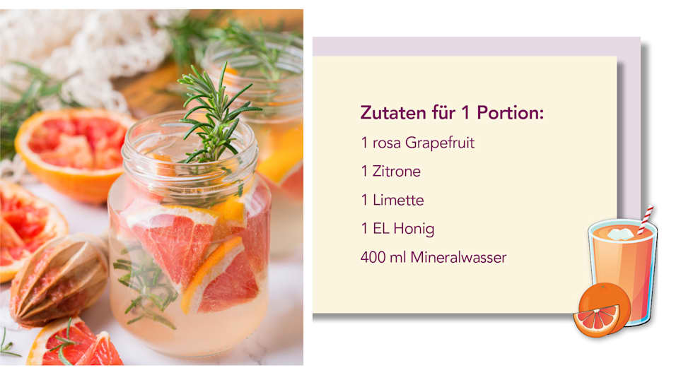 Grapefruit-Limonaden Rezept von Beyeler