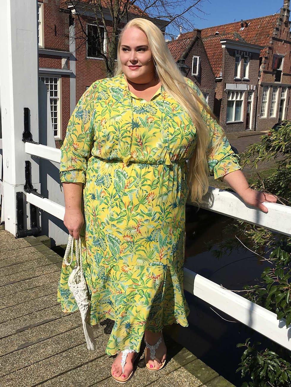 Blogger Outfit Kleid floral