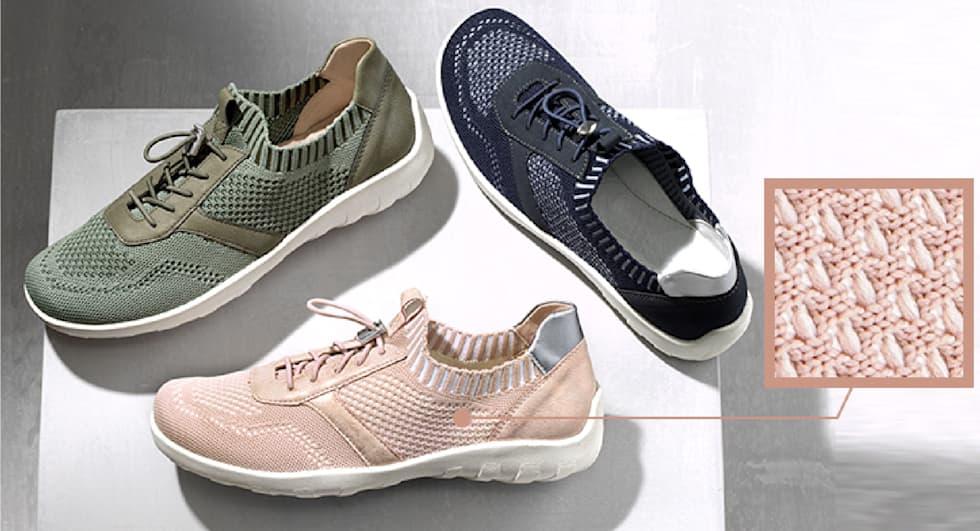 Schoenmateriaal textiel