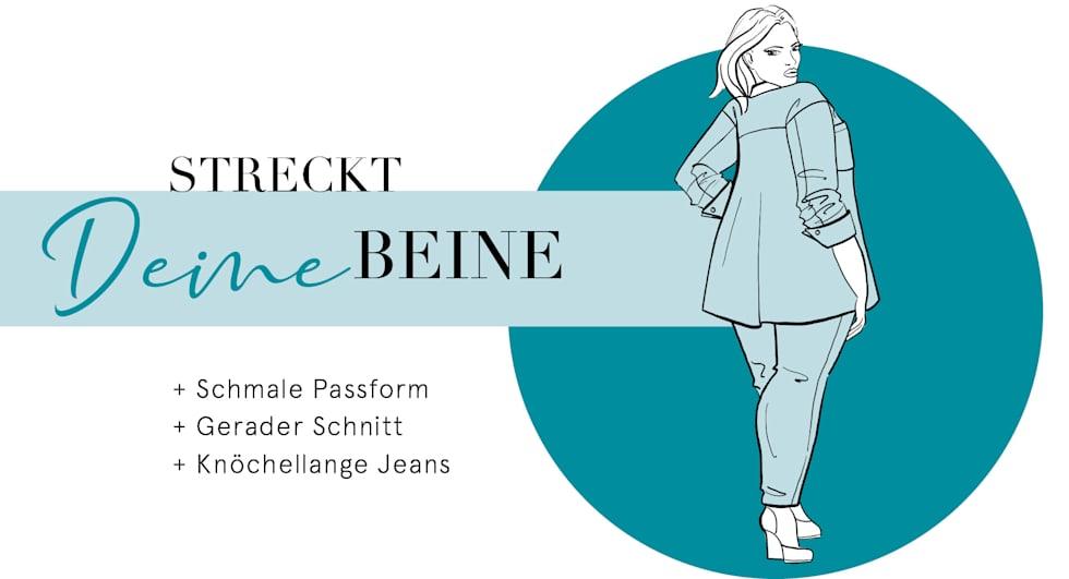 Beratung Problemzone Po & Oberschenkel für Damen  Jeans