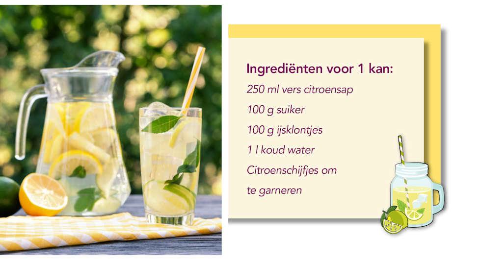 Limonaderecept van Meyermode