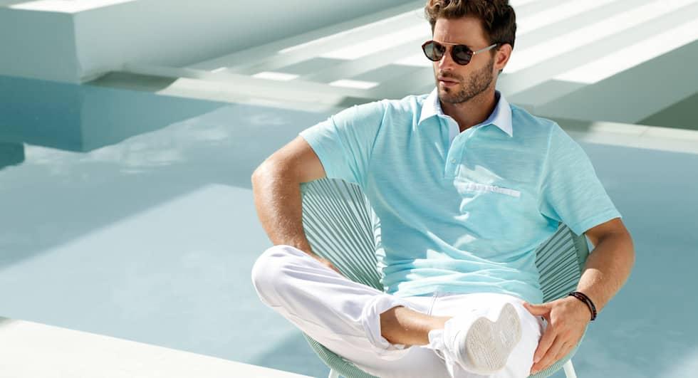 Poloshirts: elegant en makkelijk te combineren.