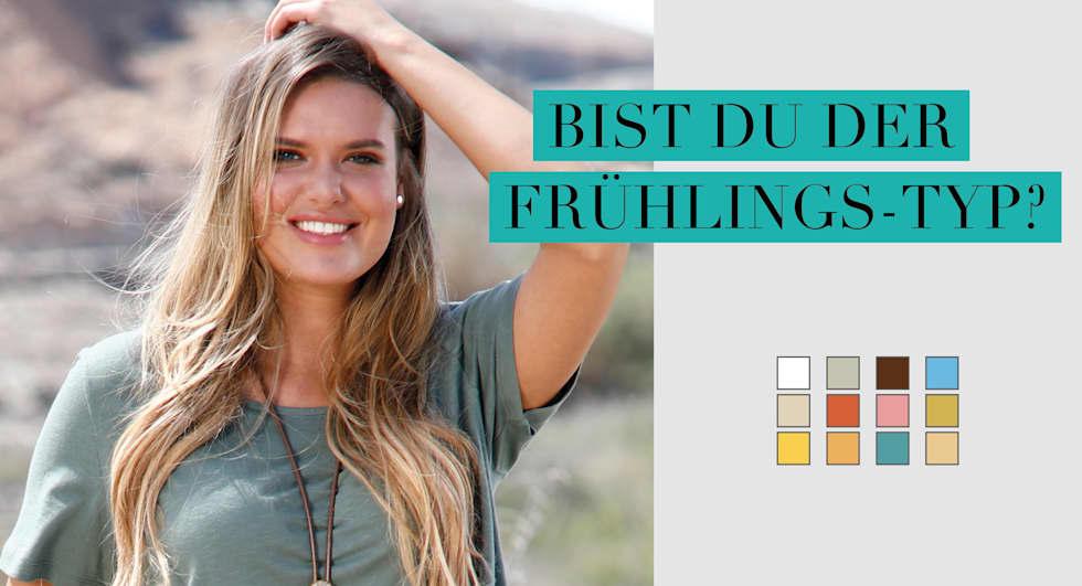 Farbberatung FRÜHLINGS-TYP