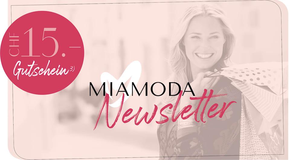 MIAMODA Grosse Grössen CHF 15.- für die Newsletteranmeldung