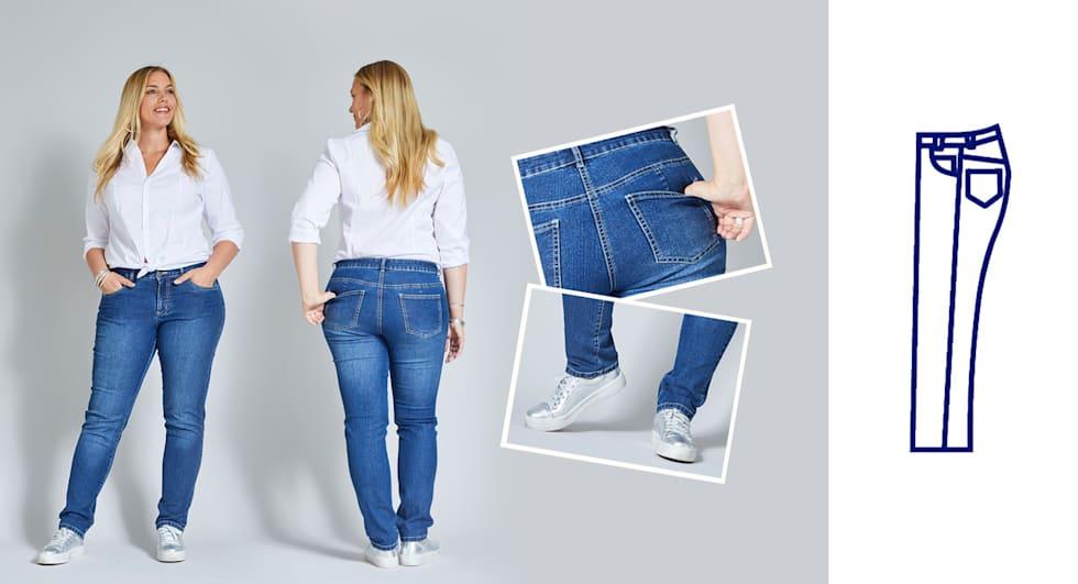 Slim Fit Jeans Damen