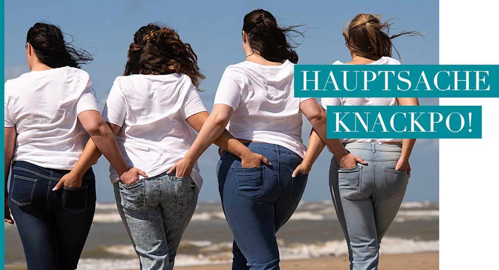 Magazinbeitrag: Die perfekte Jeans für jeden Figurtyp