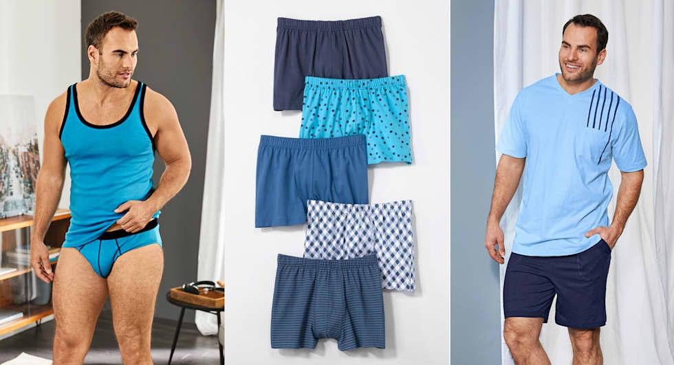 Neue Wäsche Kollektion für Herren