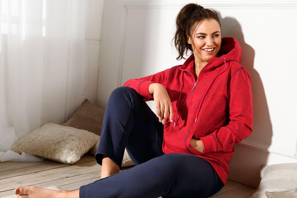 MIAMODA Tendance cosy grandes tailles - home wear