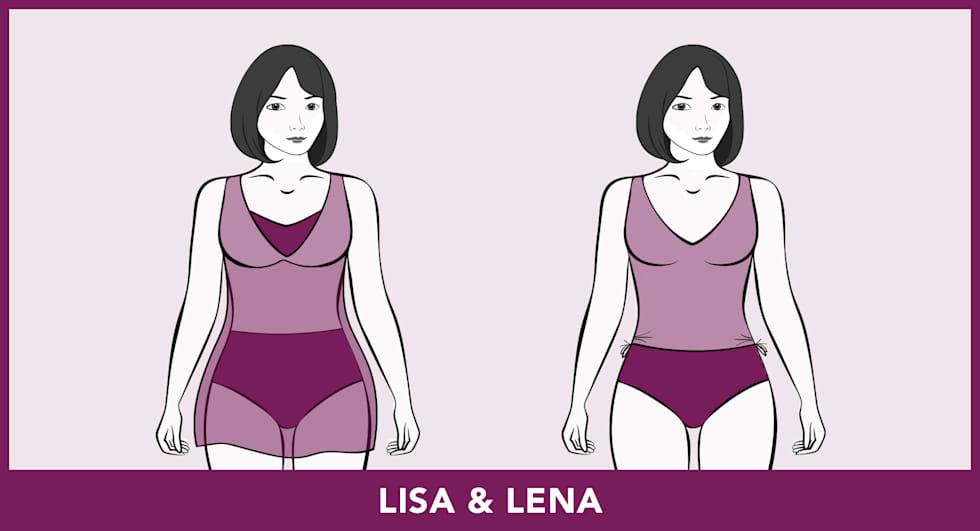 Modèles de maillots de bain - Lisa & Lena