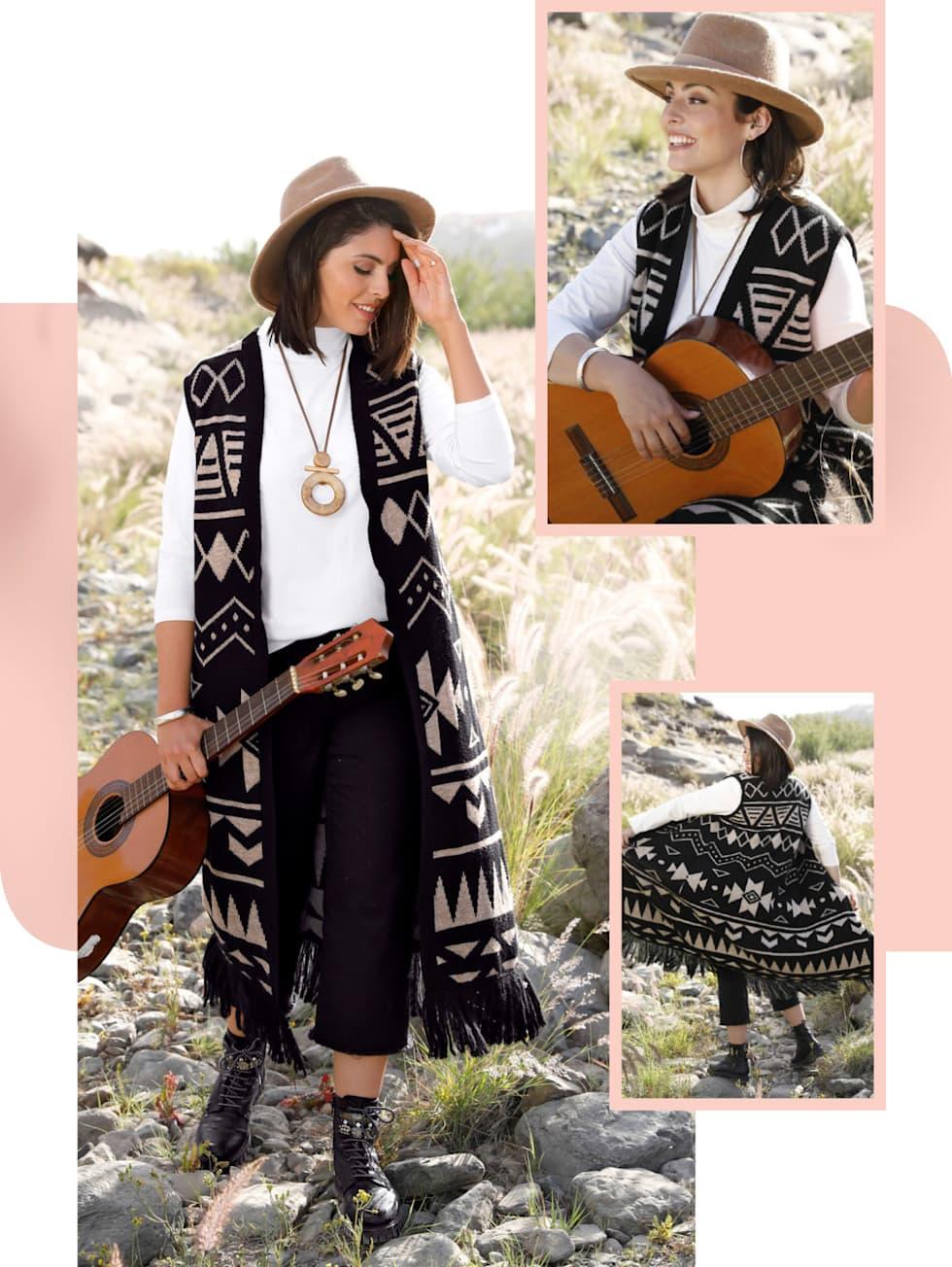 MIAMODA Große Größen Herbstkampagne Outfit
